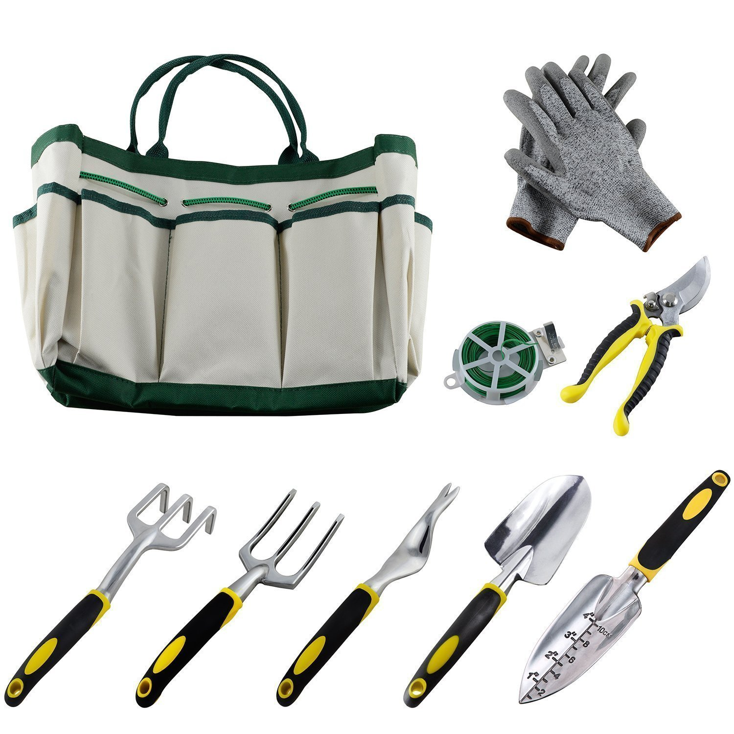 Ucharge 9Pcs Garden Tool Sets