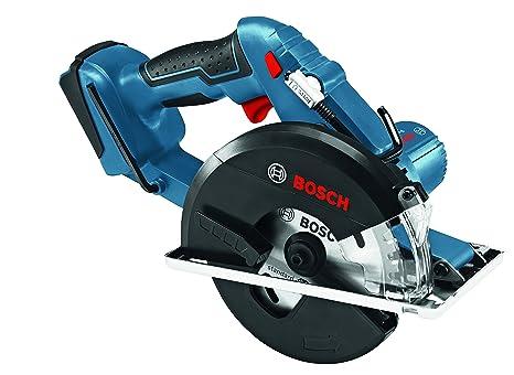 Amazon.com: Bosch - Sierra circular profesional Gkm 18 V-Li ...