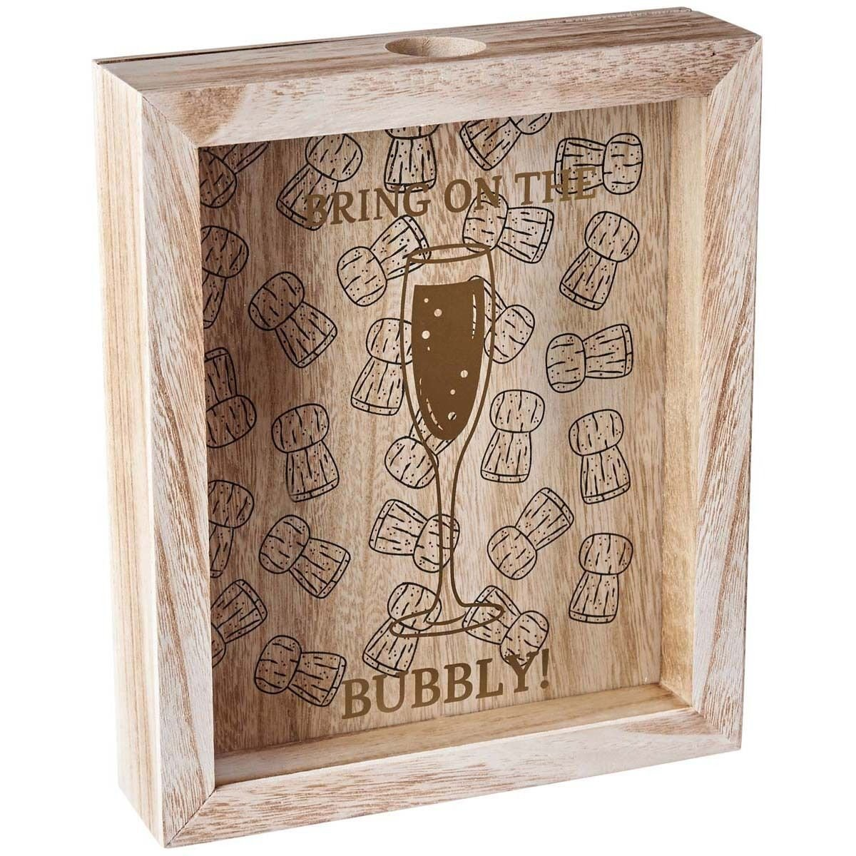 Esposizione di stoccaggio della scatola della raccolta 3D della bottiglia di vino Champagne Champagne / bottiglia di birra 3D Homes On Trend