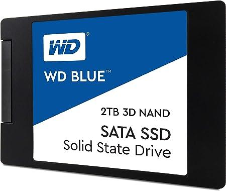 Western Digital WDS200T2B0A WD Blue 2TB 3D NAND Internal SSD 2.5 ...