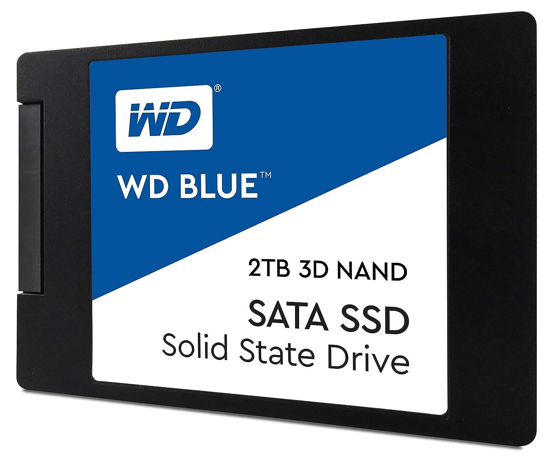 2.5//7mm WD Blue 3D NAND 500GB PC SSD SATA III 6 Gb//s WDS500G2B0A