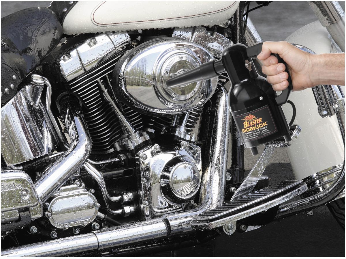 Sidekick Motorcycle Dryer, Manufacturer: Air Force Blaster, BLASTER SIDEKICK