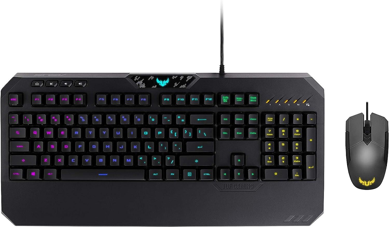 ASUS Kit Tastiera+Mouse Gaming CB01 TUF Nero