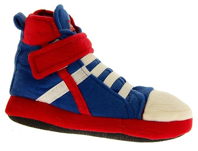 Footwear Studio de Fonseca Niñas Negro,Naranja Zapatillas de Baloncesto Deslizador Botas EU 29-30