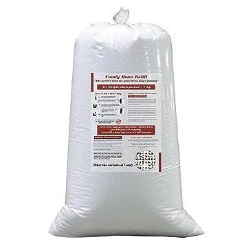 ComfyBean Bags 1 Kg Beans Filler (White)