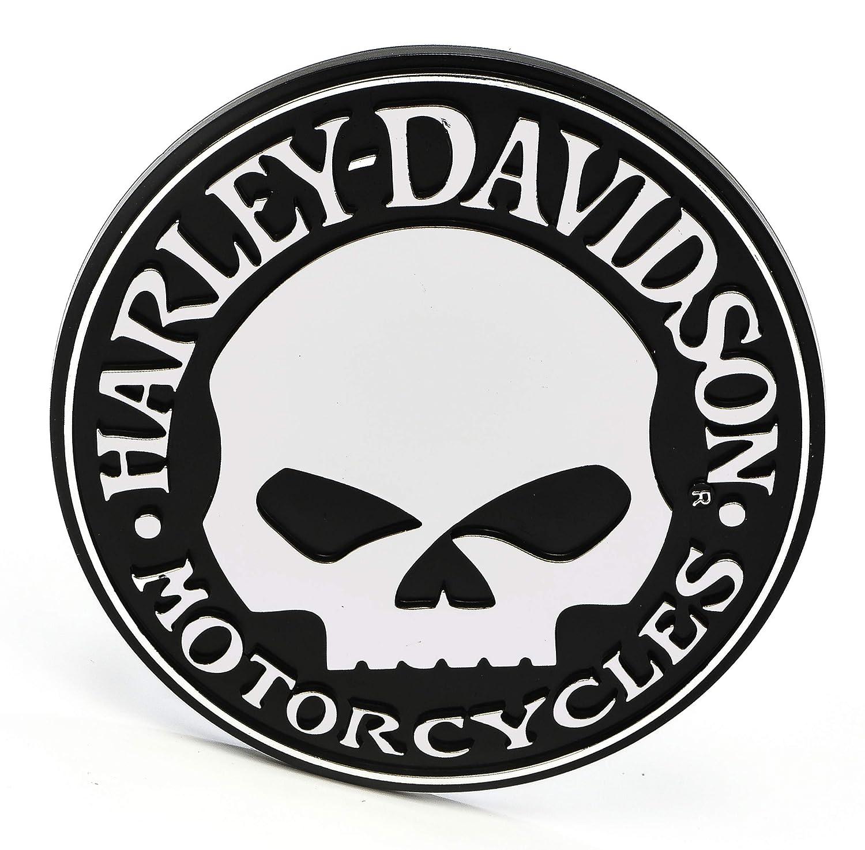 Harley-Davidson Chroma emblemz Willie G Calavera Polipropileno Moldeado Por Inyecci/ón adhesivo
