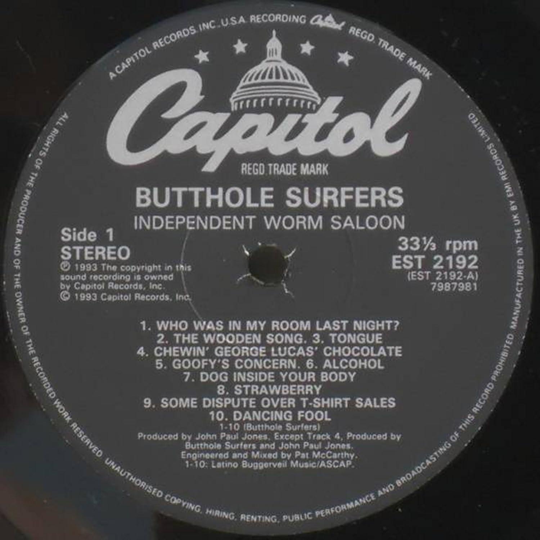 Butthole experiments 1