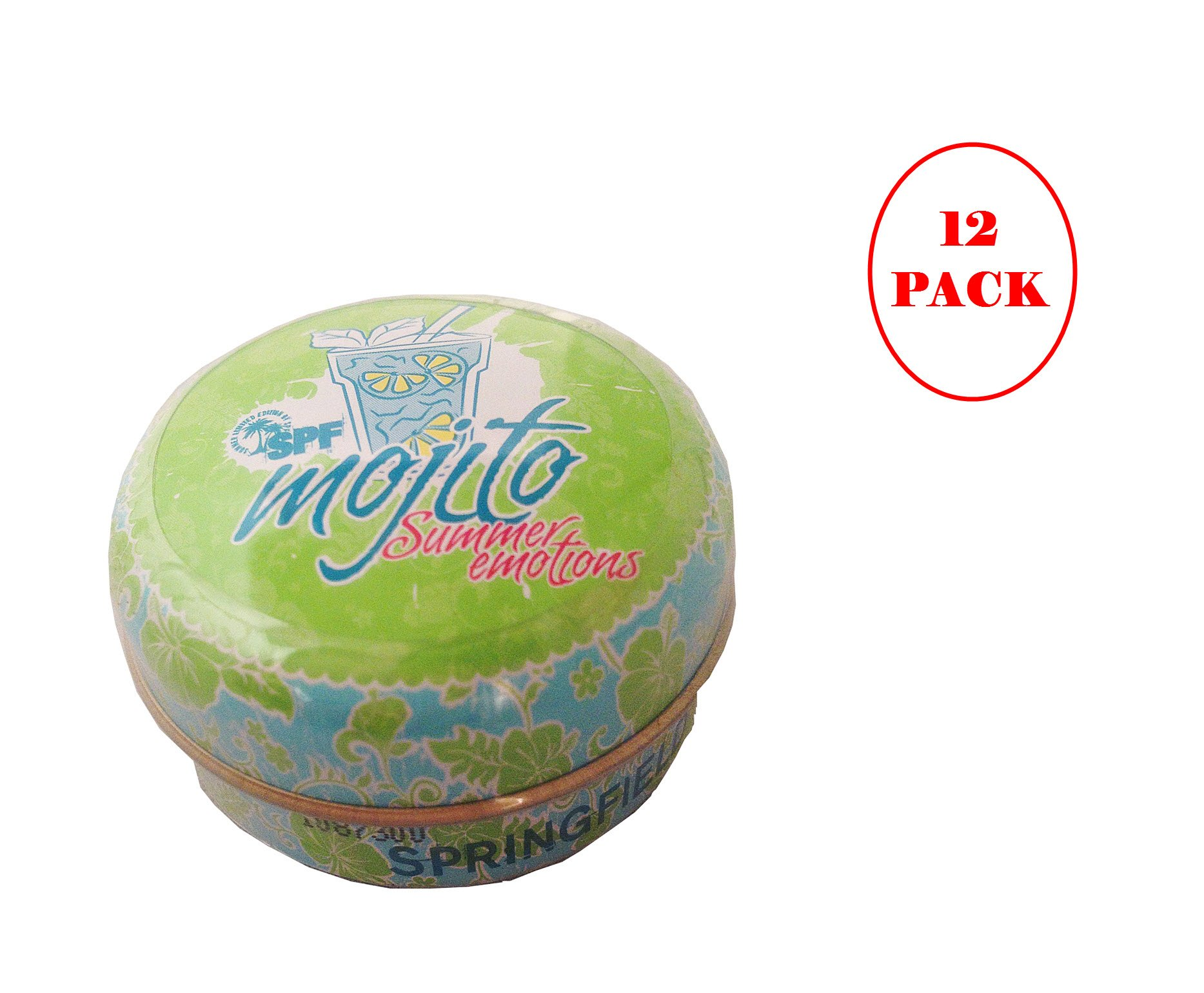 Springfield Mojito Lip Balm 15ml. Pack of 12