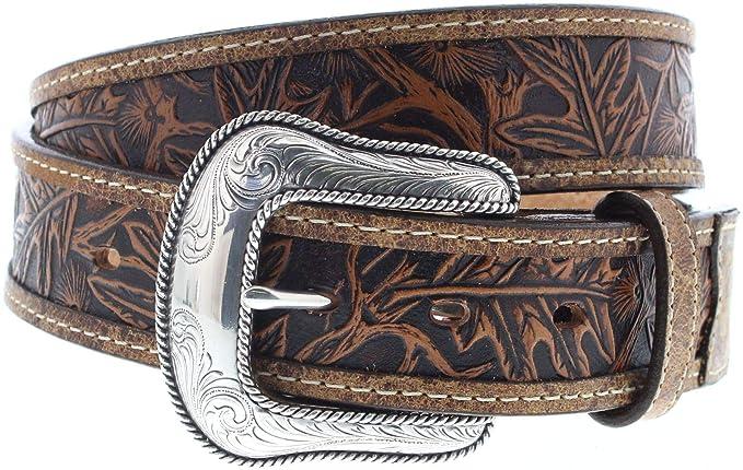 2c0a3d62dccb5e FB Fashion Boots Justin Belts Damen Herren Gürtel C13685 Westerngürtel Braun  100 Zentimeter