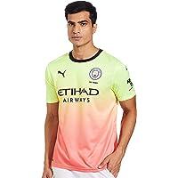 PUMA MCFC FC Third Shirt Replica SS with Sponsor Logo Maillot Hombre