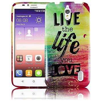 Huawei Y625 carcasa de silicona suave con contorno protector ...