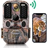 WiFi Trail Camera, usogood 24MP 1296P Game Cameras with IR Night Vision Motion Activated Waterproof Hunting Cam Wireless for