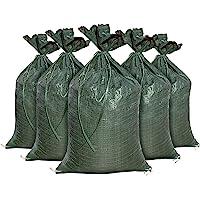 "Sandbags for Flooding, Size: 14"" x 26"", Sand Bag - Flood Water Barrier - Tent Sandbags - Store Bags by Sandbaggy (10…"