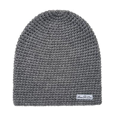 bd9e415f4a3 Amazon.com  Born to Love - Baby Boy s Stripe Beanie Baby Hat  Clothing