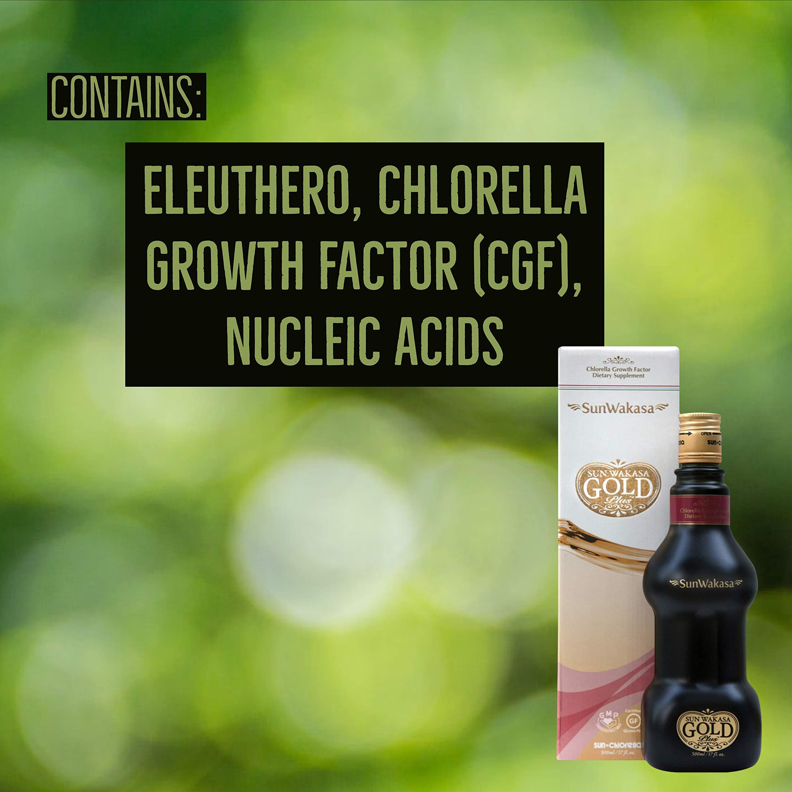 Sun Chlorella- Sun Wakasa Gold with Chlorella Growth Factor- Support Your Health On A Cellular Level (17 Fluid Ounce) by Sun Chlorella (Image #8)