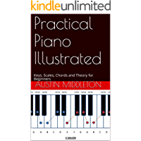 Practical Piano Illustrated: Keys, Scales, Chords and Theory for Beginners book cover