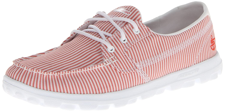 Women's Red & White Striped