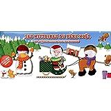 Les histoires du Père Noël : Mon coffret de 3 livres avec marionnettes