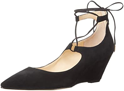 Ivanka Trump Women's Winogrand Dress Pump, Black Suede, ...