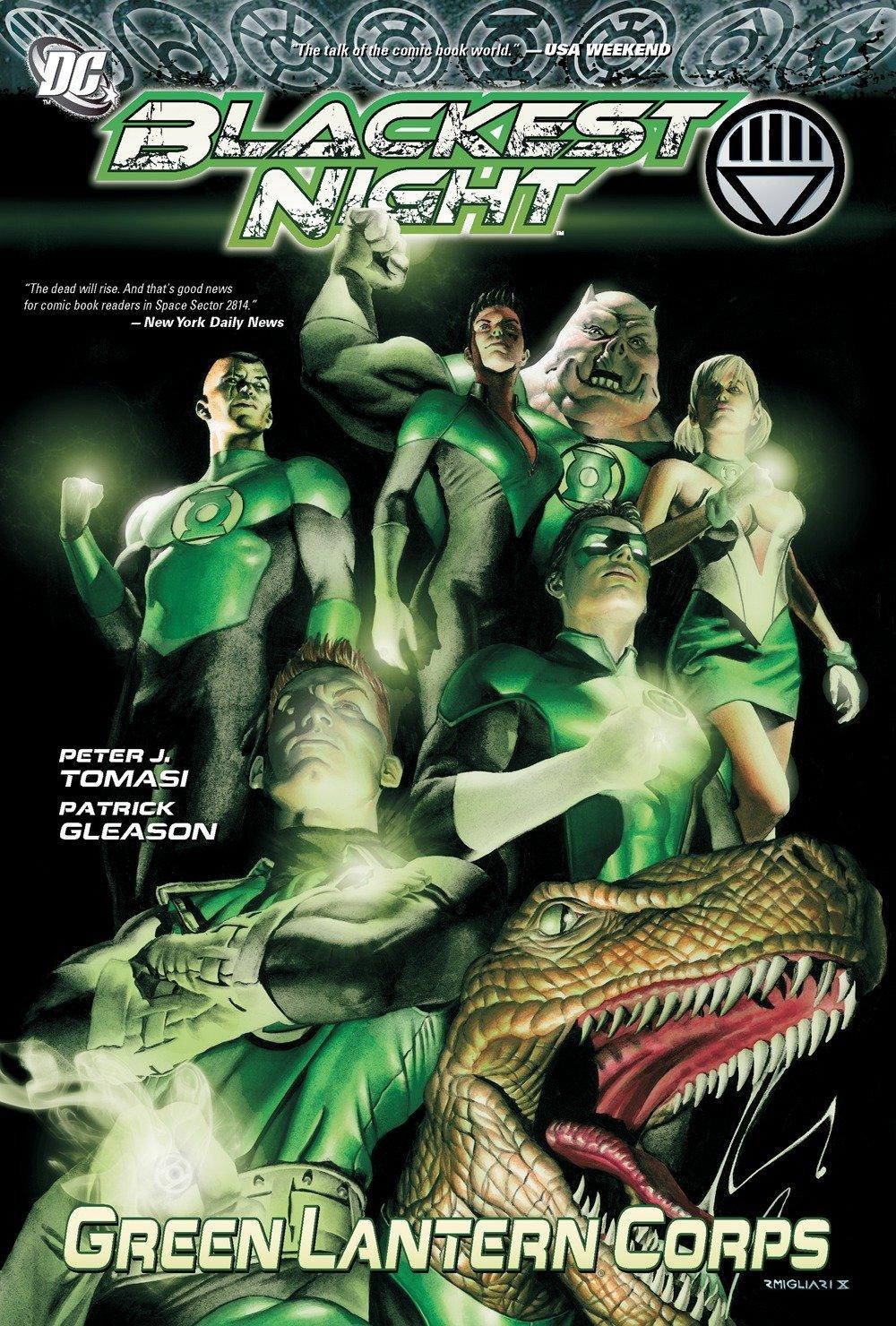 Read Online Green Lantern Corps: Blackest Night pdf
