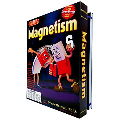 ScienceWiz Magnetism Experiment Kit and Book 22 Experiments, Magnetism: Norman, Penny, Ph.D., Huff, Art, Beckstrom, Lynn: Toys & Games