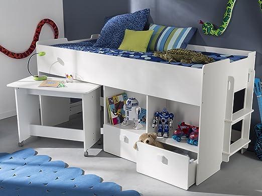 Etagenbett Mit Schreibtisch : Kombi bett schreib schlaf etagenbett schreibtisch
