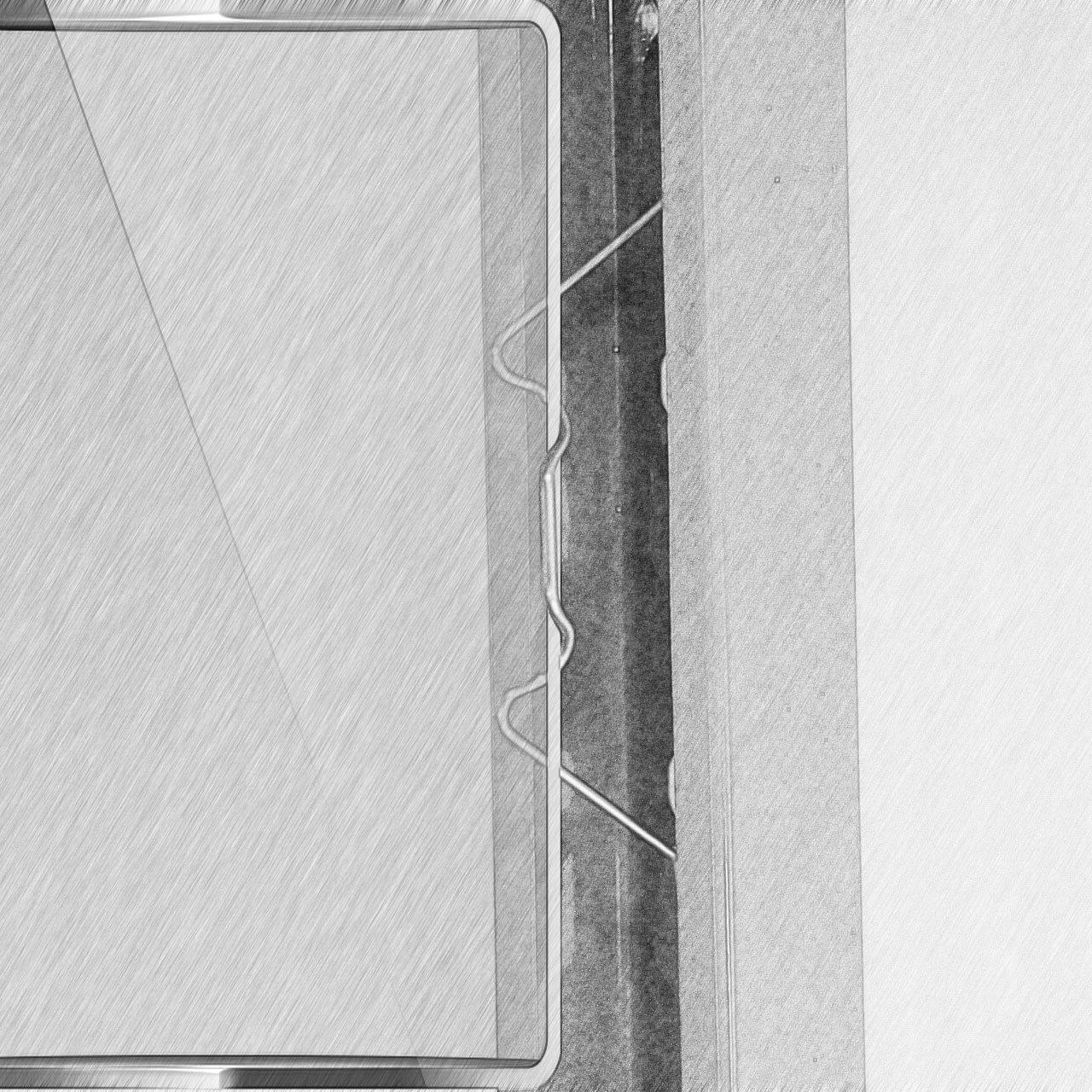 KEAYOO 100 Pezzi Acciaio Inossidabile W Tipo 1.6mm di Spessore Morsetto di Vetro Serra