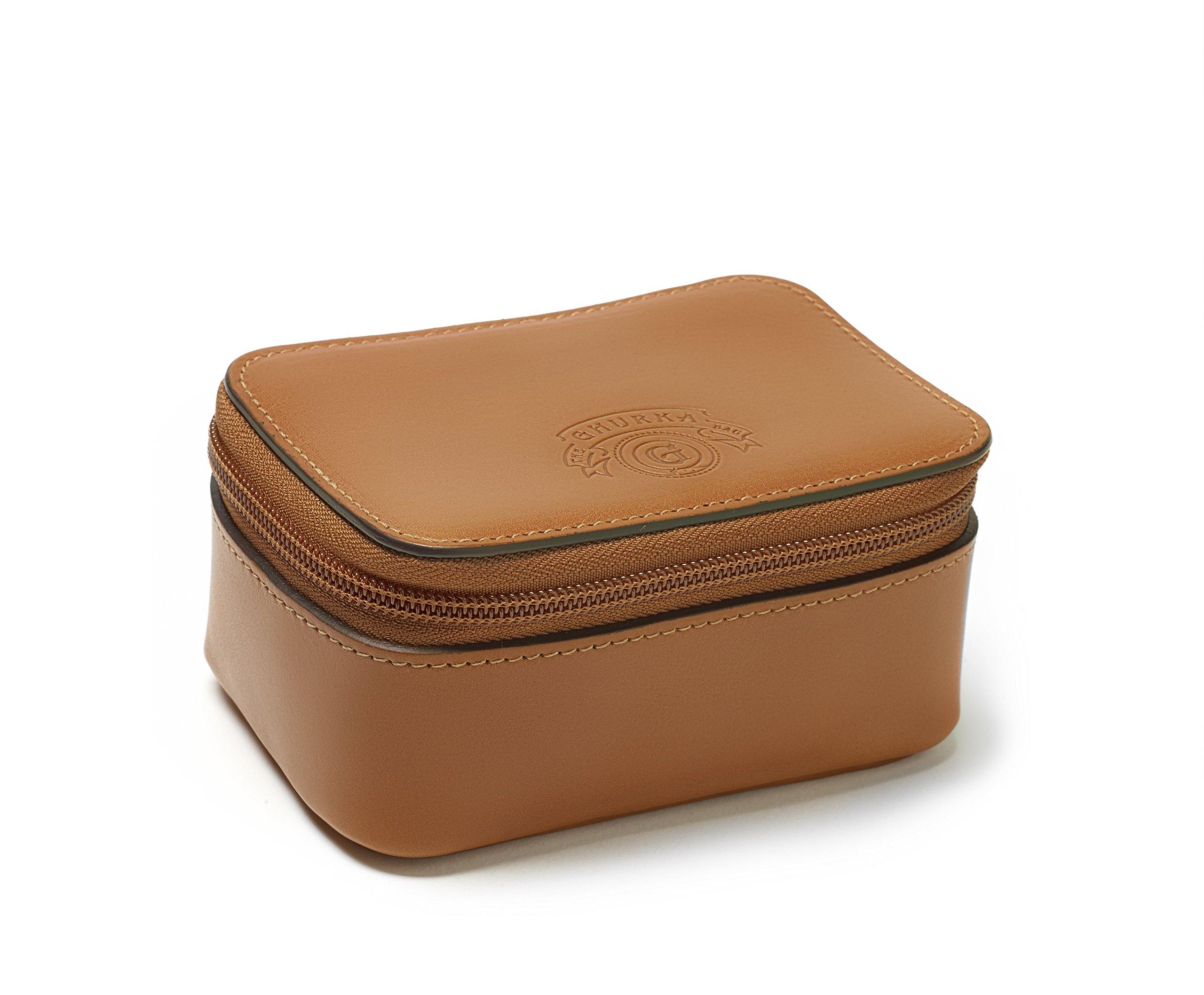 Ghurka Travel Watch Case (Chestnut)