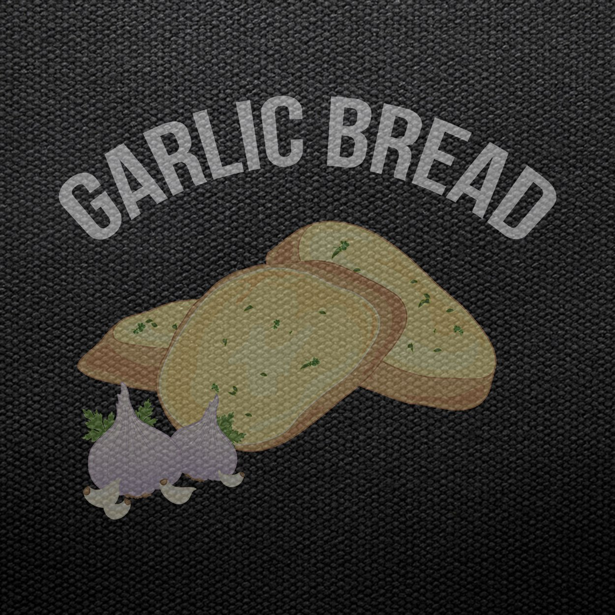 Teechopchop Garlic Bread,Funny Graphic,Gift Tank Top