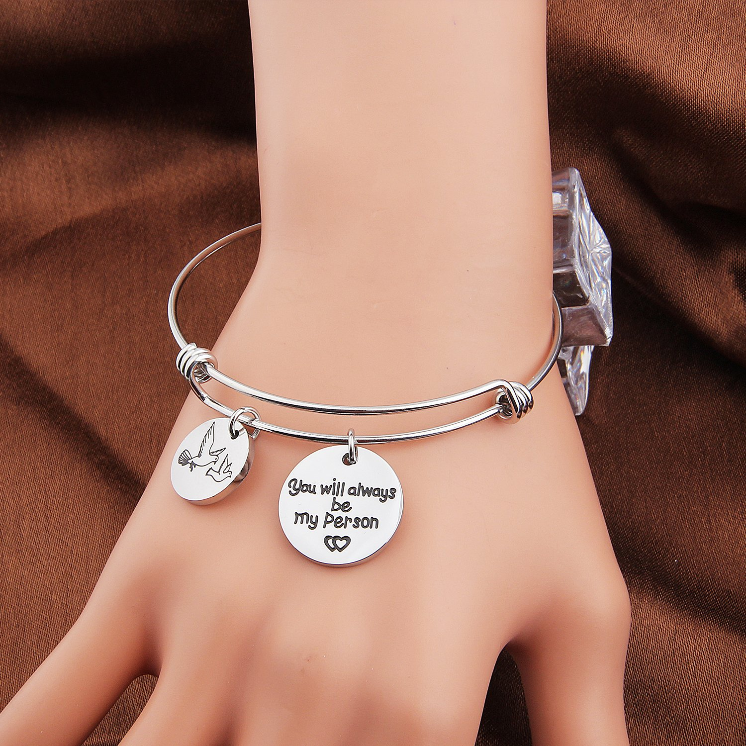 MAOFAED You are My Person Bracelet Couples Bracelet Best Friend,Maid of Honor,Bridesmaid Gift/Jewelry