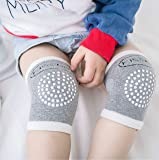 Baby Adjustable Five Colors Anti-Slip Crawling Knee Pads Leg Warmers 5 Pairs