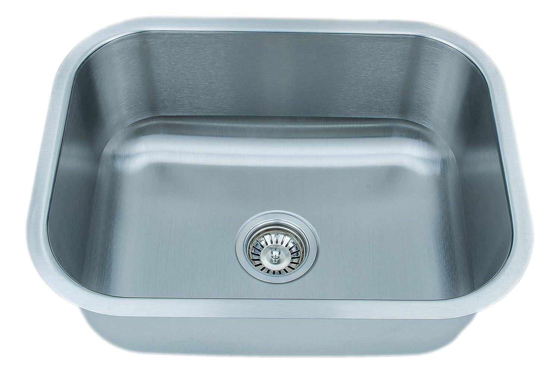 Wells Sinkware CMU2318-9 18-Gauge Single Bowl Undermount Kitchen ...