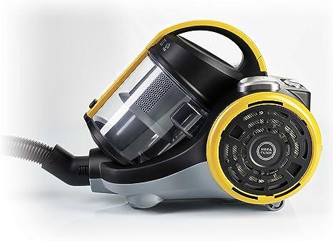 Polti C115 Forzaspira-PBEU0099 Forzaspira C115-Aspirador ciclónico sin Bolsa Potente, 1400 W, 2 litros, 79 Decibelios, plástico, Amarillo: Amazon.es: Hogar