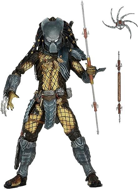 "PREDATOR Warrior NECA 7/"" BOAR ALIENS AVP Action Figure"