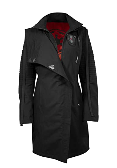Musterbrand Star Wars Chaqueta Mujer Sith Lady Chaqueta Negro 34 (XS)