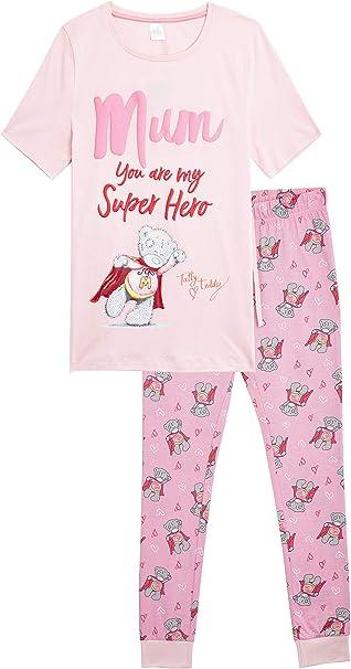 Ladies  2 piece pyjama set Tatty Teddy Relax