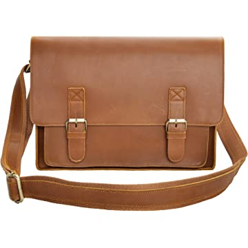 top selling ZLYC Leather Messenger