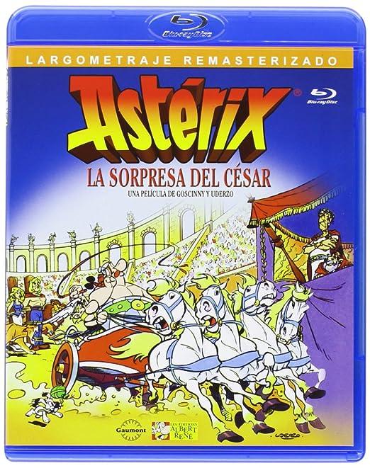 Astérix - La Sorpresa Del César [Blu-ray]: Amazon.es: Personajes Animados, Paul Brizzi, Gaëtan Brizzi, Personajes Animados, Yannik Piel: Cine y Series TV