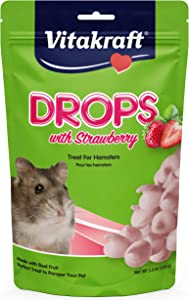 Vitakraft Strawberry Drops Hamsters