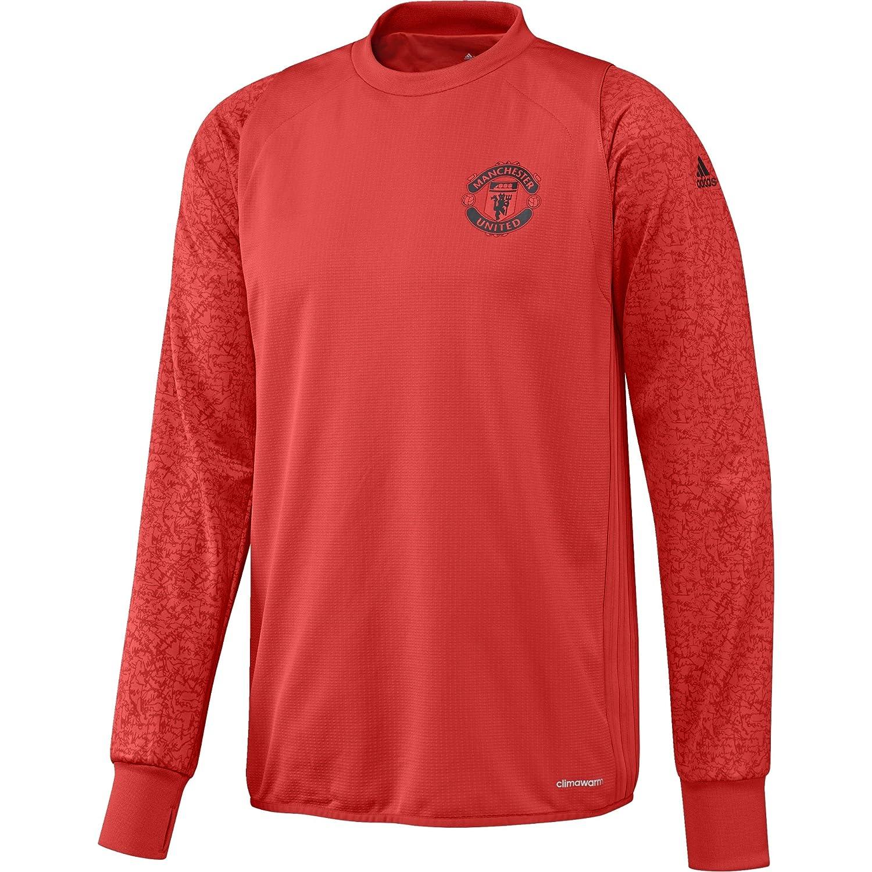 Adidas Manchester United FC EU TRG Top - Sweatshirt für Herren, Farbe Rot, Größe