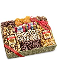 Amazon gourmet gifts grocery gourmet food chocolate caramel and crunch grand gift basket negle Image collections