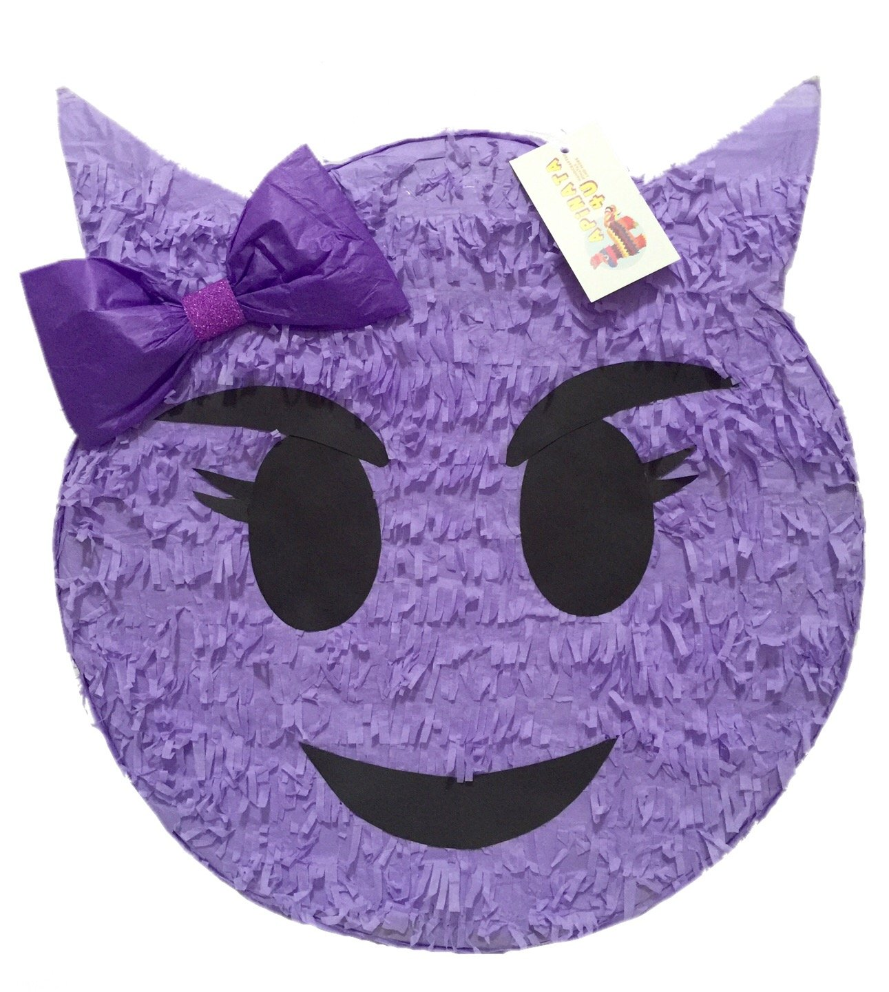 Purple Devil Emoji Pinata
