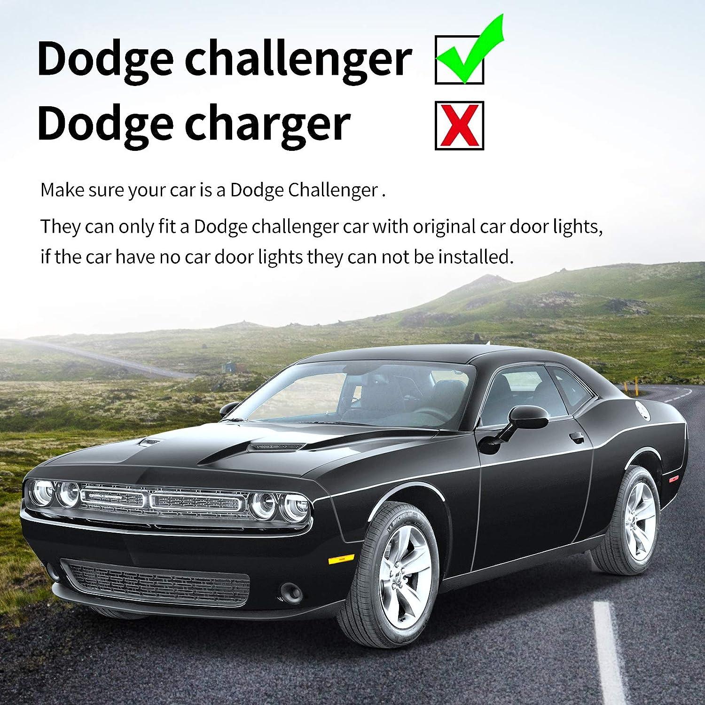 Blue Dodge CHALLENGER For Blue Dodge CHALLENGER Wireless Car Door ...