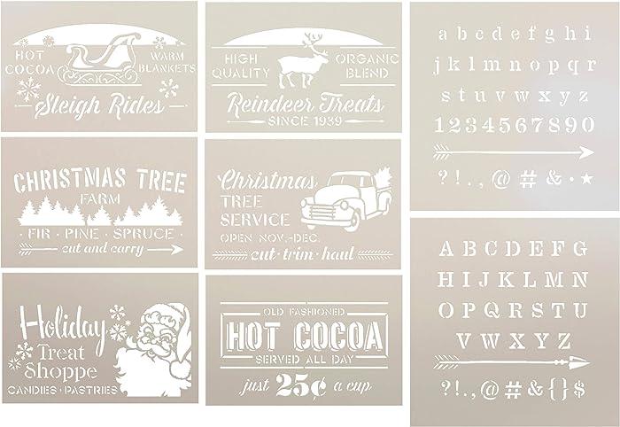 Top 9 Reindeer Food Stencil