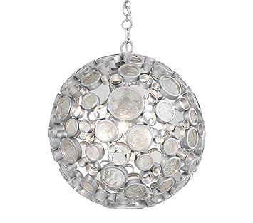 Amazon.com: Fascinación 3-Light lámpara de techo – Nevada ...