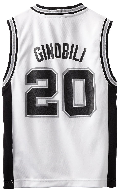 hot sale online 64388 71143 Manu Ginobili White Adidas NBA Revolution 30 Replica San ...
