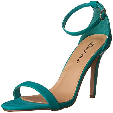 Women's Sydney-46 Stiletto Ankle Strap High Heel Dress Sandals
