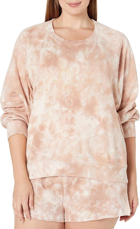 mit Langen Raglan/ärmeln von The Drop Caroline Sweatshirt aus Fleece Marke