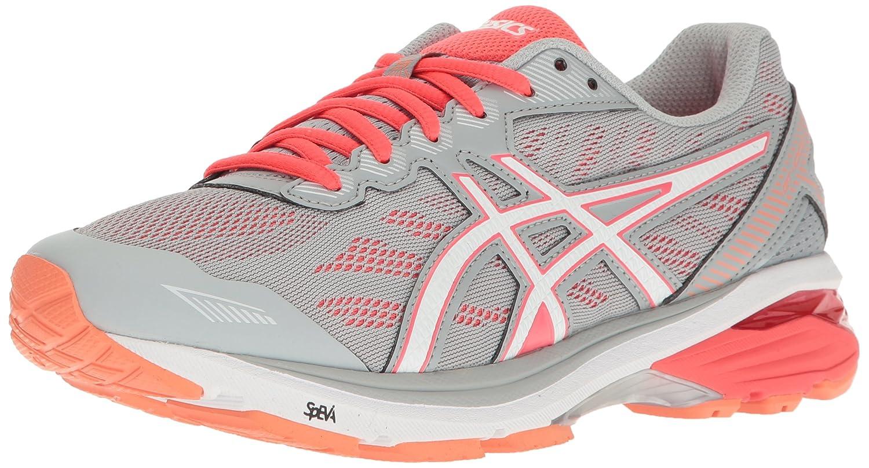 ASICS Women's Gt-1000 5 Running Shoe B01GU9MQLU 5.5 D US|Mid Grey/White/Diva Pink