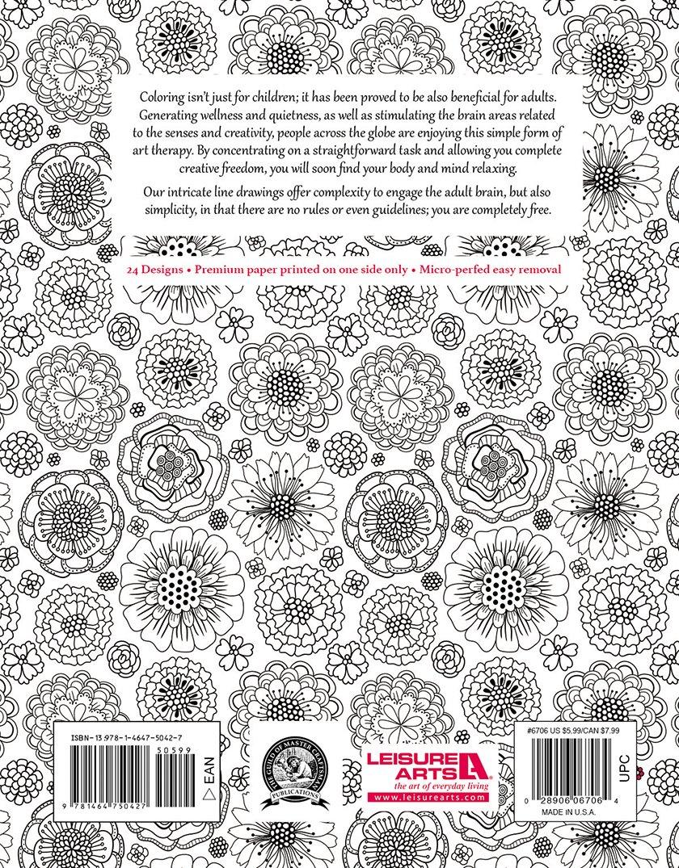 Color art floral wonders - Amazon Com Floral Wonders Color Art For Everyone Leisure Arts 6706 9781464750427 Leisure Arts The Guild Of Master Craftsman Publications Ltd